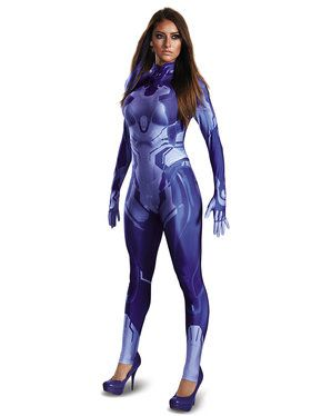 Halo Wars 2 Cortana Adult Bodysuit Costume
