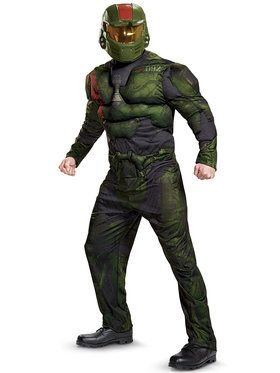 halo wars 2 adult jerome muscle costume