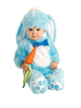 Blue Bunny Baby Child Costume