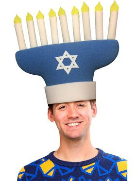 Hanukkah Adult Hat