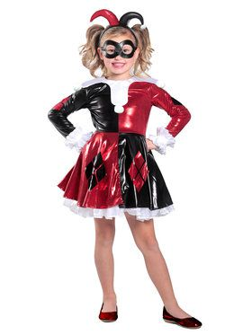 Child Harley Quinn Premium Dress