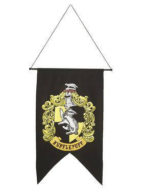 Harry Potter Hufflepuff Printed Wall Banner