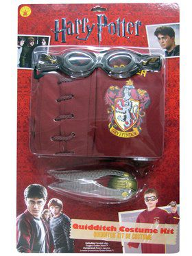 Harry Potter Quidditch Costume Kit For Children