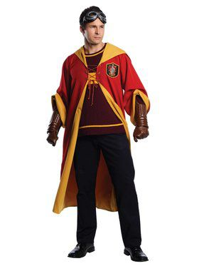 Harry Potter Quidditch Gryffindor Adult Costume