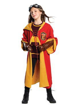 Harry Potter Quidditch Gryffindor Child Costume