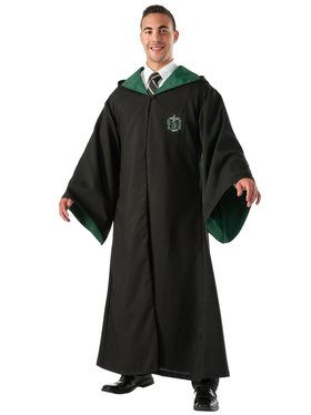 Deluxe Harry Potter Slytherin Replica Robe