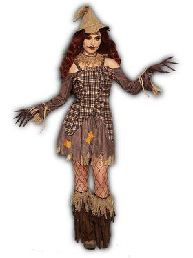 Harvest Scarecrow - Female Adult Costume