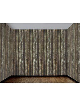 Haunted House - Rotted Wood Wall - 1 x 4