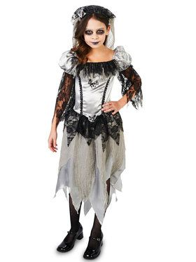 Haunted Princess Bride Child Costume