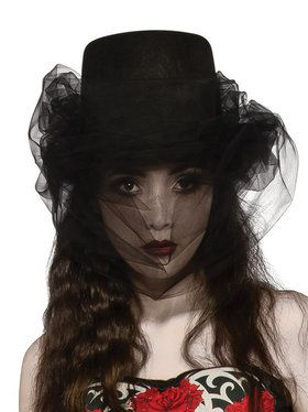 Heart of Darkness Adult Top Hat