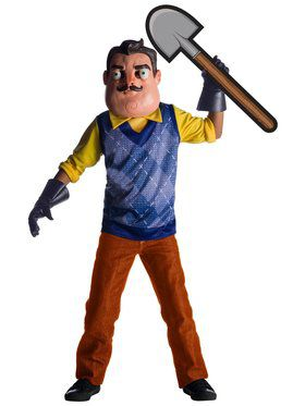 Boys Deluxe The Neighbor from Hello Neighbor Costume
