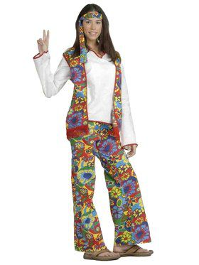 Hippie Dippie Woman Adult Costume