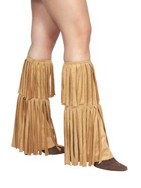 Hippie Fringed Leg Warmers