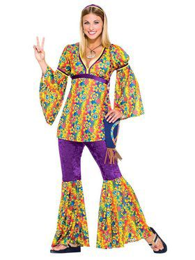 Hippie Girl Teen Costume