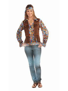 Hippie Groovy Set - Female Adult Costume
