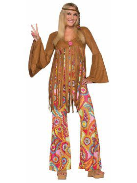 Hippie Groovy Sweetie Adult Costume