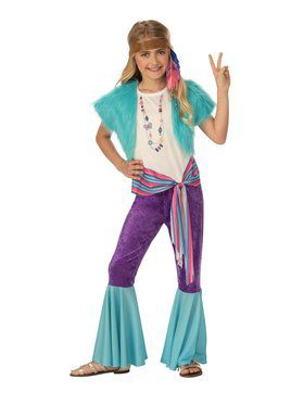 Hippy Girl's Costume