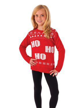 Ho Ho Ho Sweater for Kids