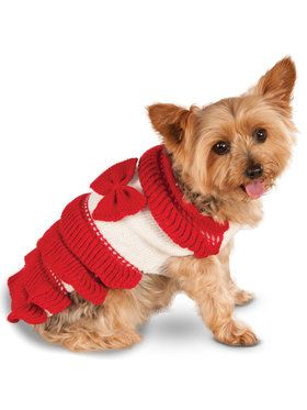 Holiday Dress Pet Costume