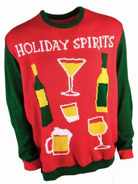 Holiday Spirits Christmas Sweater