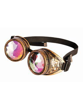 Holograph Steampunk Goggles