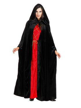 Hooded Cloak Adult Costume