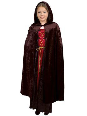 Hooded Cloak- C.P Child Costume