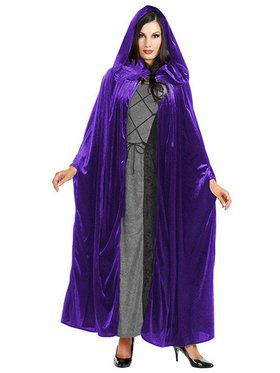 Hooded Cloak Cp Adult Costume