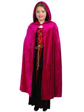 Hooded Cloak - Red Child Costume