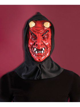 Hooded Devil Mask