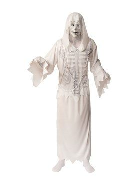 Hooded Ghost Adult Costume