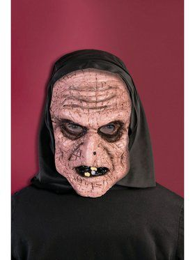 Hooded Old Lady Mask