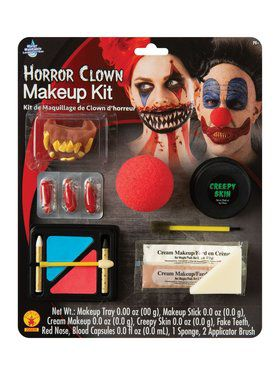 Horror Clown Make - Up Kit