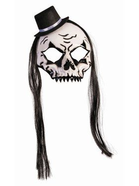 House Of Bonez - Skull Mask With Hat And Hair