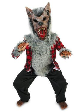Child Howling Werewolf Costume