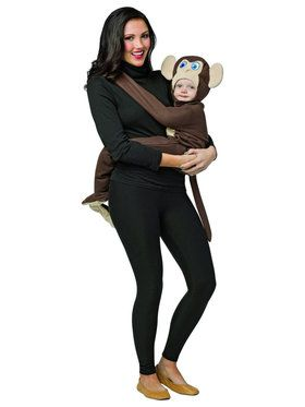 Huggables - Monkey Infant Costume