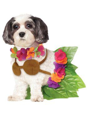 Hula Girl Pet Costume