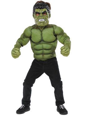 Hulk Deluxe Costume Top Set