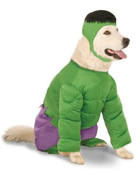 Hulk Pet Costume XX-Large