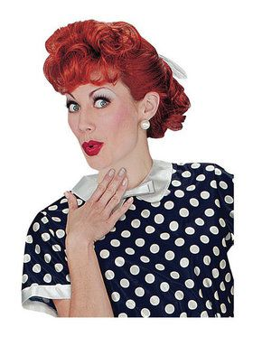 I Love Lucy Wig Adult