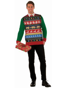 """""""Icons"""" Christmas Sweater"""