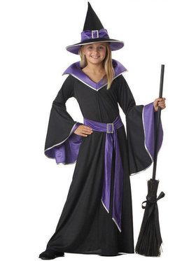 Girl's Glamour Witch Costume