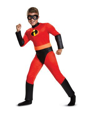 Child Classic Muscle Dash Incredibles 2 Costume