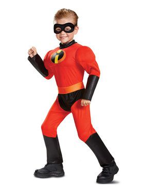 Muscle Classic Toddler Dash Incredibles 2 Costume