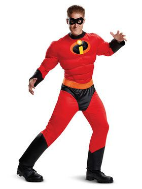 Muscle Classic Adult Incredibles 2 Mr. Incredible Costume