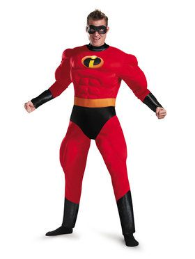 Adult Incredibles 2 Classic Muscle Mr. Incredible Costume