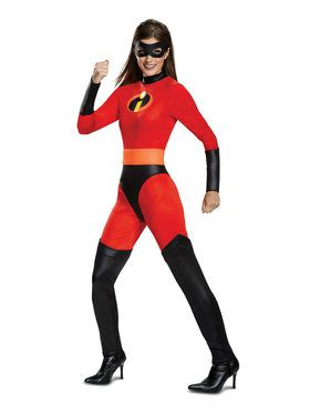 Incredibles 2 Mrs. Incredible Classic Adult Costume  sc 1 st  BuyCostumes.com & All New 2018 Halloween Costumes - Halloween Costumes | BuyCostumes.com