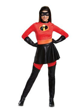 Deluxe Skirted Incredibles 2 Mrs. Incredible Costume
