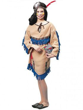 Indian Girl Costume for Kids