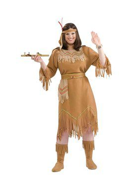 Indian Maiden Adult Plus Costume  sc 1 st  BuyCostumes.com & Western Cowboys u0026 Indians Costumes For Adults | BuyCostumes.com